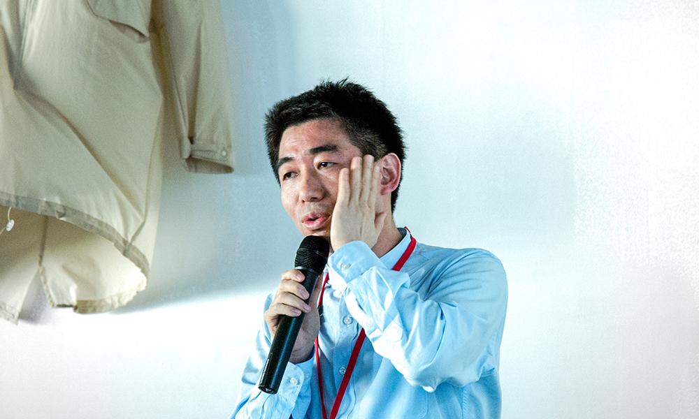 NTTコミュニケーション科学基礎研究所 渡邊淳司氏写真