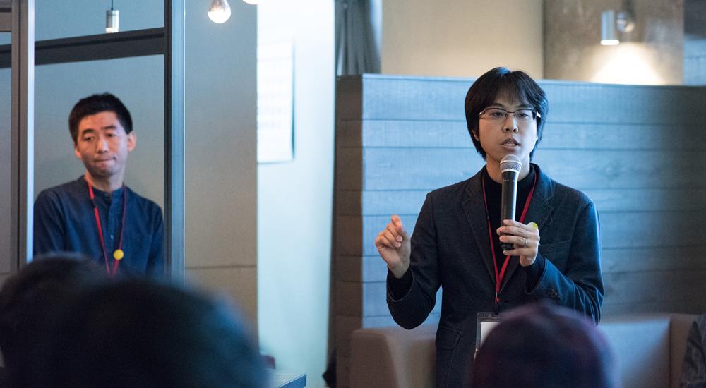 南澤先生の写真