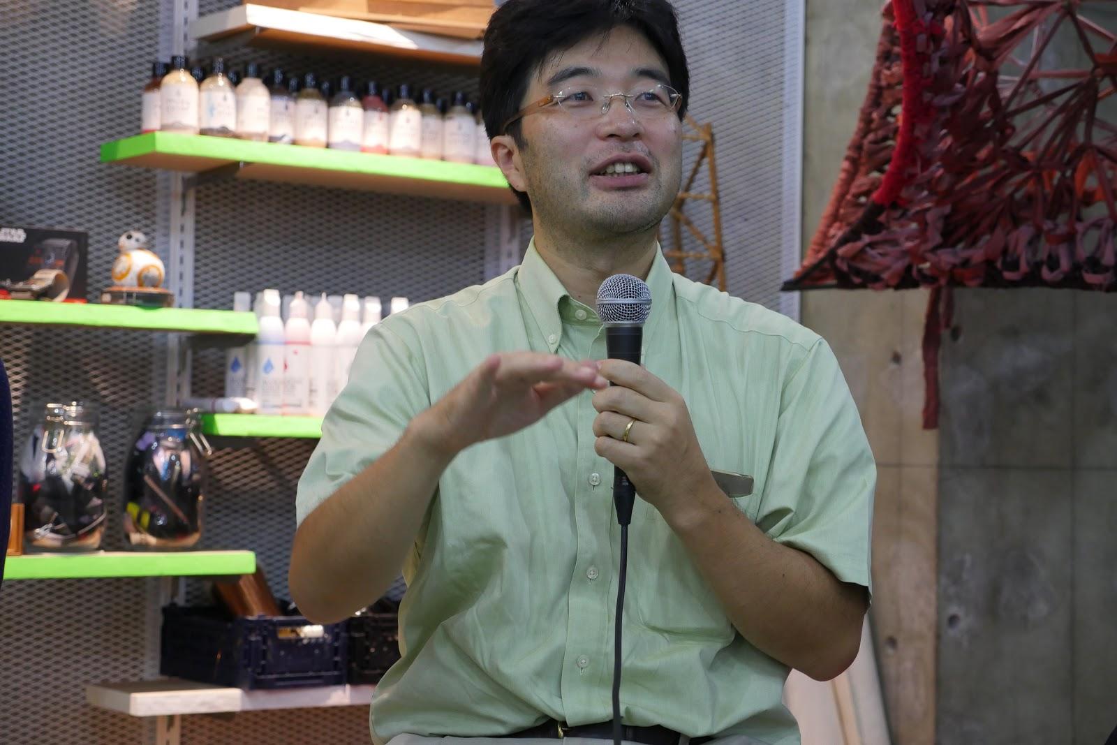 梶本先生の写真