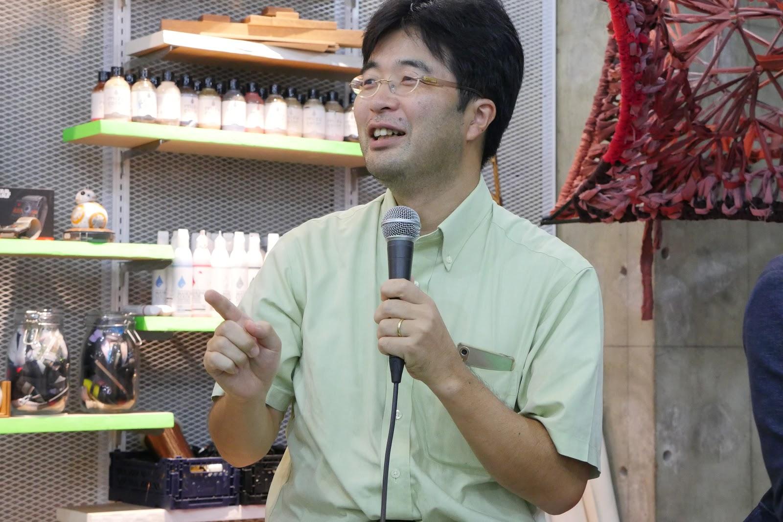 梶本 裕之先生(電気通信大学)