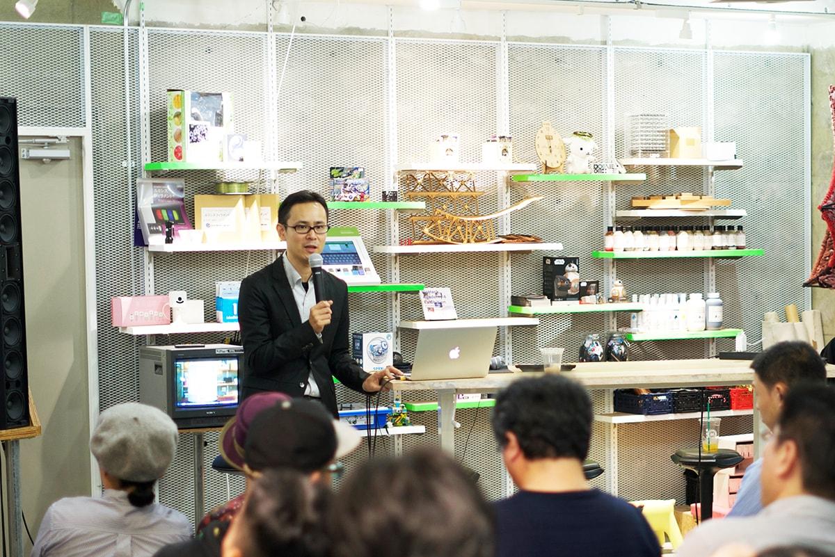 仲谷先生の写真